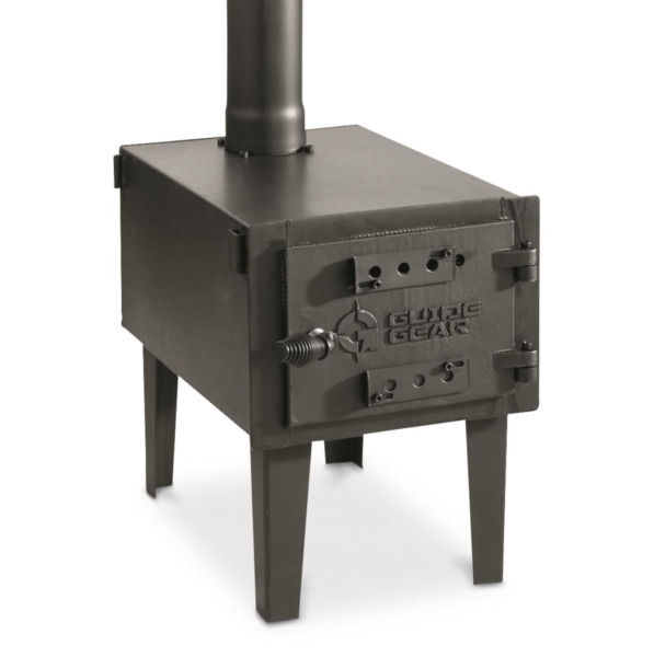 Wood Burning Stove Camping Tent Ice Shack Heater Woodstove Body amp; Pipe Fireplace $162.97