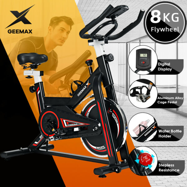 GEEMAX Exercise Bicycle Cycling Fitness Stationary Bike Cardio Home Indoor Gym $188.98
