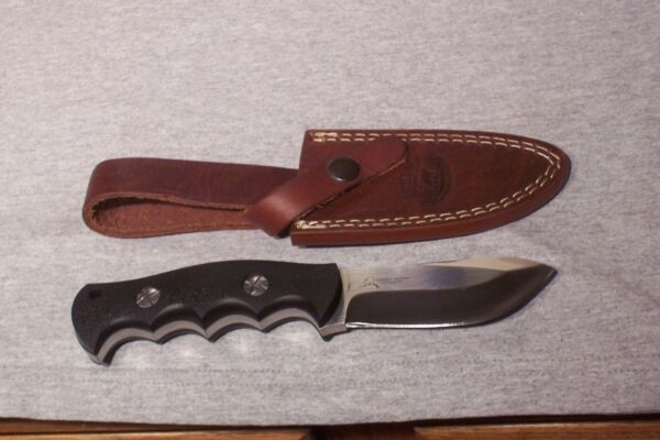 TIMBERLINE KOMMER ALASKAN HEAVY DUTY SKINNER KNIFE amp; SHEATH NEVER USED