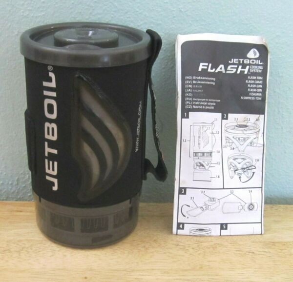 Jetboil Flash Camping Backpacking Stove Cooking System Carbon New Never Used