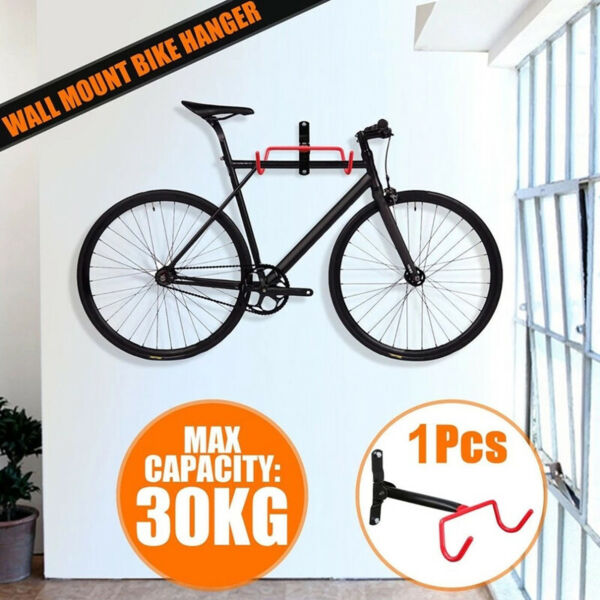 Bicycle Storage Holder Rack Stand Garage Bike Wall Mount Hook Hanger Access P1 $26.99