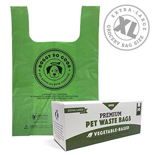 Biodegradable Dog Poop Bags Compostable XL Cat Litter X Large Dog Waste Bags $14.32