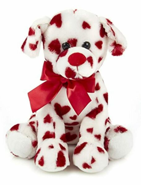 Bearington Romantic Rover Plush Stuffed Animal Puppy Dog with Hearts 12 inches $20.42