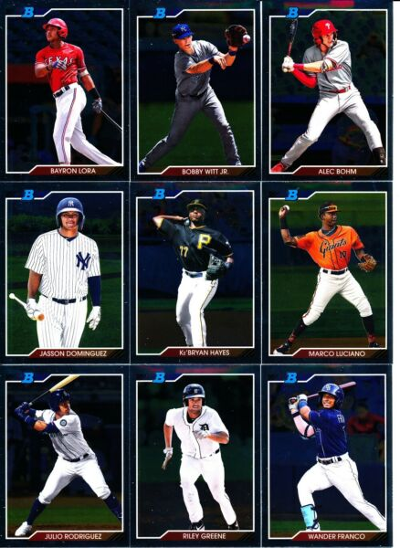 2020 Bowman Heritage CHROME PROSPECT CARDS Online Exclusive U Pick From List