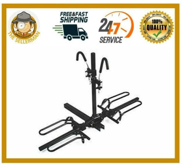 Mountain Bike Fat Tire Bicycle Adjustable Hitch Rack Universal Folds Carrier $108.42