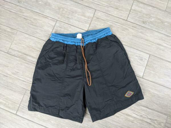 USA made CANNONDALE bike shorts LARGE baggy PADDED lined CYCLING vintage $39.95
