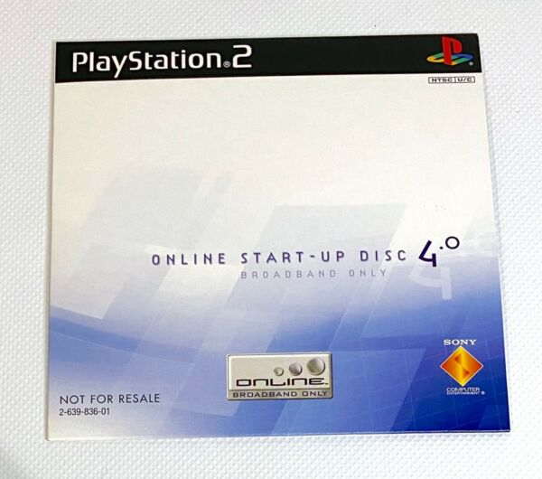 Free Ship* Playstation 2 Start up Disc 4.0