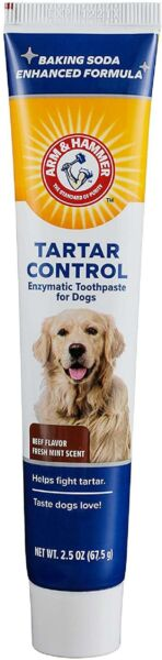 Arm amp; Hammer Dog Dental Care Tartar Control Enzymatic Toothpaste for Dogs Beef $8.99