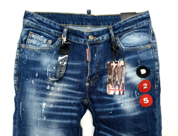 DSQUARED2 LIMITED TIME OFFER ** MEN`s JEANS ** BLUE COLOR ** ALL SIZES ** №6137 $80.00
