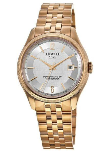 New Tissot Ballade Automatic Silver Dial Two Tone Men#x27;s Watch T108.408.33.037.00 $439.00