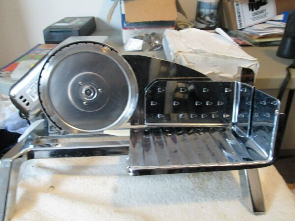HEAVY DUTY STAINLESS STEEL RIVAL FOOD PROCESSOR SLICER TESTED MINTLAST LONG TIME
