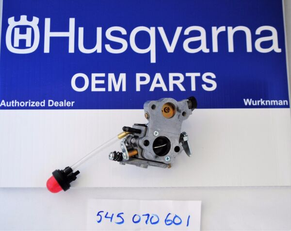 OEM Husqvarna Carburetor 545070601 Zama W 26 Fits Poulan Craftsman Chain Saw