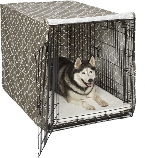 48quot; Extra Large Giant Breed Dog Crate Kennel XL Pet Wire Cage Huge Folding Cover $61.41