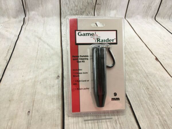 Game Raider Portable Quick Gun Cleaning Kit 9mm RG0040 NOS