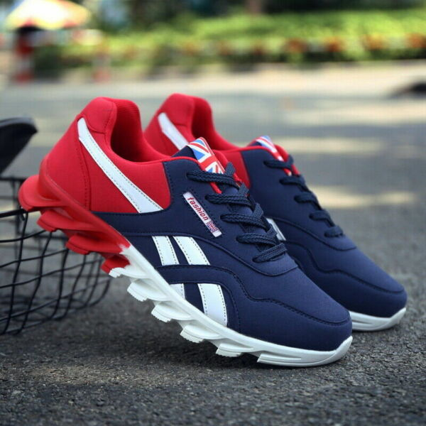 Men#x27;s Casual Trainers Athletic Sneakers Lightweight Sports Running Tennis Shoes