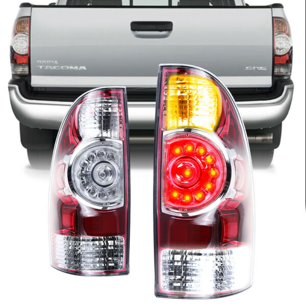 Fits 05 15 Toyota Tacoma Tail Lights Brake Lamps Taillight Aftermarket 2005 2015 $74.88