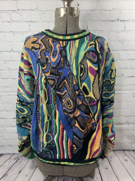 Super Rare 100% Authentic Vintage Coogi Sweater M Australia $300.00