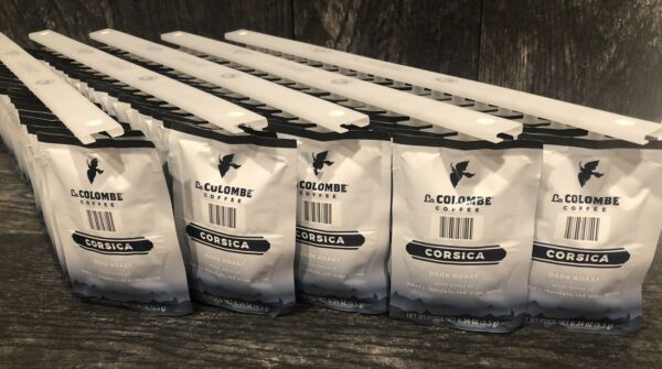 LavAzza La Colombe Coffee Corsica Dark Roast 95 Pack Pods 5 Rails Flavia Pods