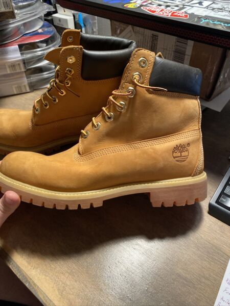 Timberland 6 Inch Premium Waterproof 10061 BOOTS US Size 11 $80.00