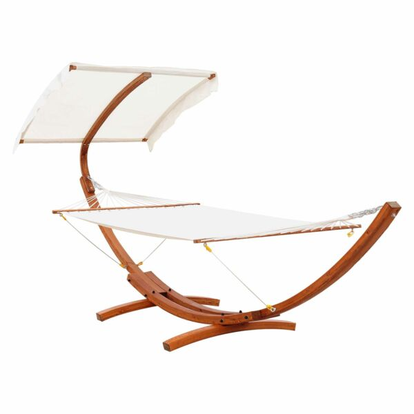 2 person Hammock Swing Outdoor Patio Lounger with Sun Shade $319.99