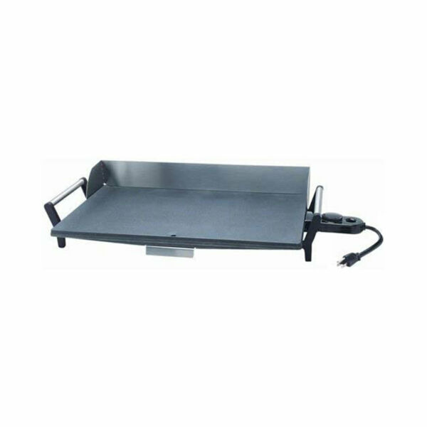 BroilKing PCG 10 Nonstick 21 x 12 Inch Professional Countertop Griddle Gray