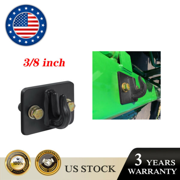 3 8 in Bolt On Grab Hook Mount Bolton Hooks for Tractor Bucket with Hardware $48.50