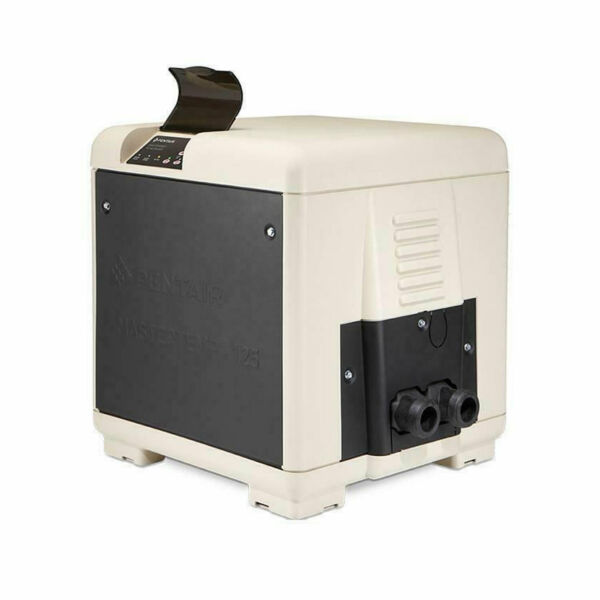 Pentair MasterTemp 125 125000 BTU Natural Gas Compact Pool amp; Spa Heater System $1699.00