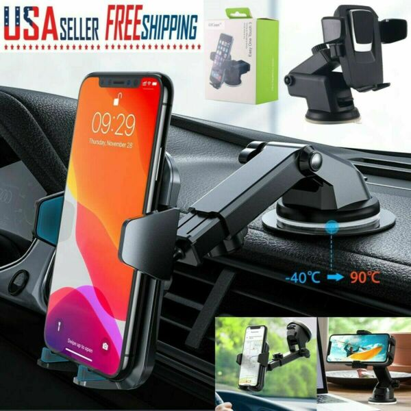 Universal Car Windshield Suction Cup Holder Dash Mount Stand for Cell Phone GPS $6.98