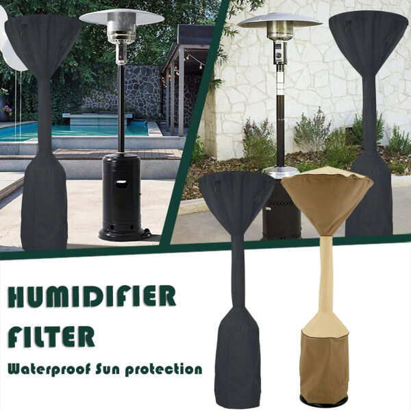 Heavy Duty Patio Heater Cover Waterproof Dustproof Outdoor Furniture Protector