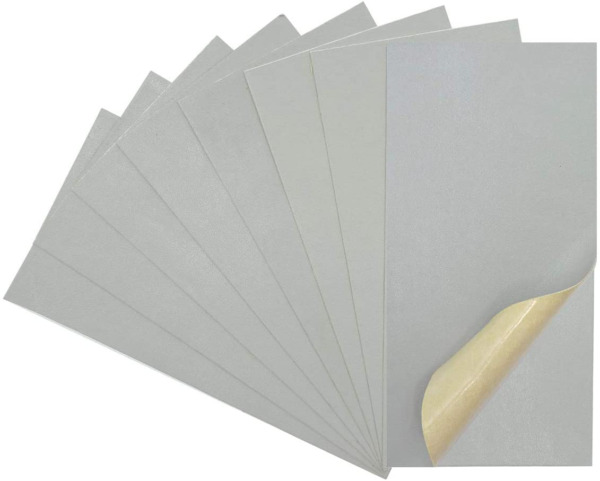 Leather Repair Kits for Couches and Cars Gray Leather Repair Patches Super Thin