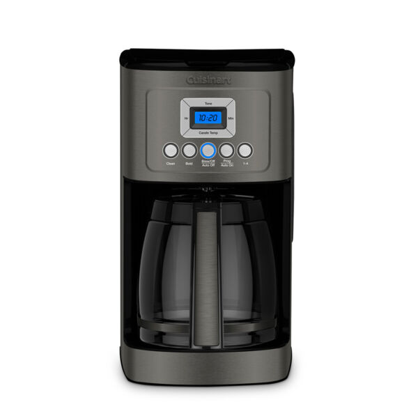 Cuisinart 14 Cup Coffee Maker with Water Filtration Black Stainless