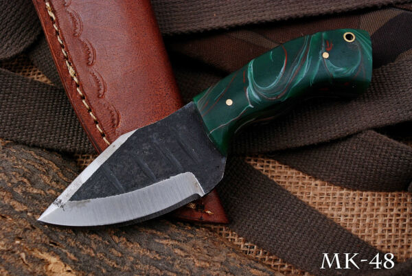 Hand Made Miniature High Carbon Knife w Resin Handle MK 48 $19.99