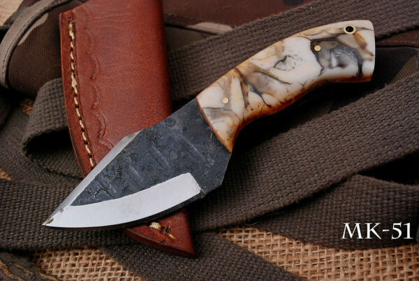 Hand Made Miniature High Carbon Knife w Resin Handle MK 51 $19.99