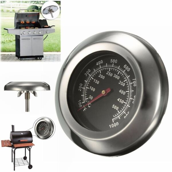 50 500Degree 3quot; Roast Barbecue BBQ Smoker Grill Thermometer Temperature Gauge US