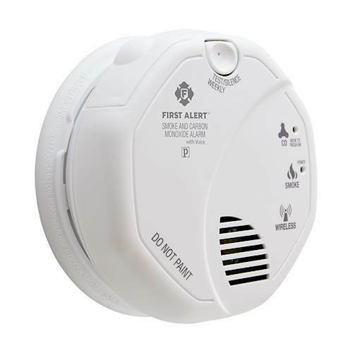 NEW FIRST ALERT 1039839 Wireless Interconnected Smoke amp; Carbon Monoxide Alarm $29.99