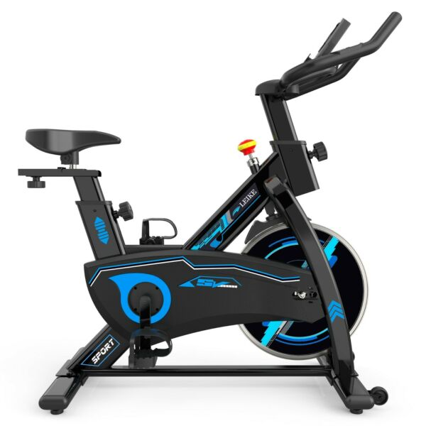 Leikefitness Exercise Stationary Bike Gym Indoor Aerobic Workout Cycling Fitness $242.10
