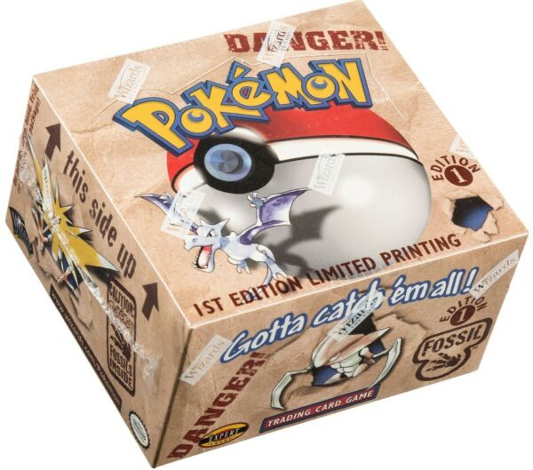 Pokemon Fossil Set Gotta Catch#x27;em All Choose Your Card Base First Editions
