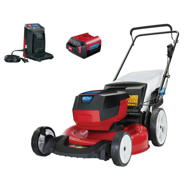 Toro Recycler 20367 21quot; 60V Li Ion Cordless Battery Walk Behind Lawn Mower Kit $370.45