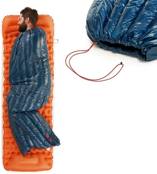 Ultralight 800 Fill Power Goose Down Sleeping Bag Backpack Envelope 1.26lbs $104.86