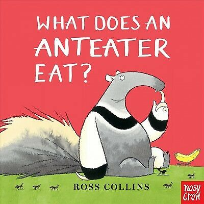 What Does an Anteater Eat? Hardcover by Collins Ross Like New Used Free s... $9.09