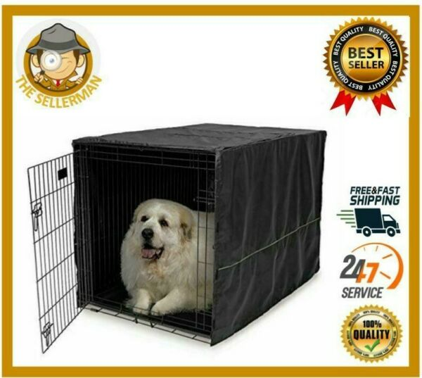 MidWest Dog Crates Homes for Pets Dog Crate Cover Privacy Dog Crate Cover Fits $20.58