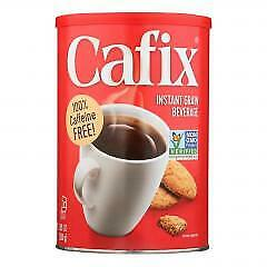 Cafix All Natural Instant Beverage Coffee Substitute Caffeine Free Case of 6 $75.10