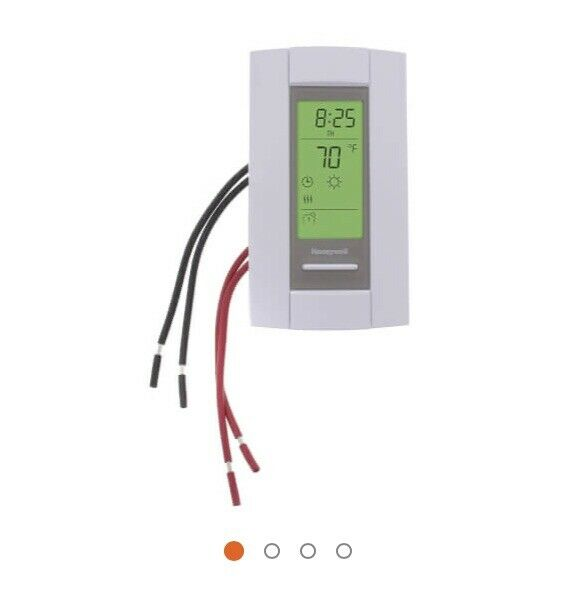 LineVoltPro Digital Programmable Electric Heat Thermostat $40.00