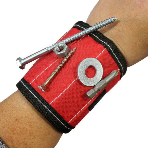 ABN 2253 Magnetic Wristband for catching Nuts Screws Small Tools