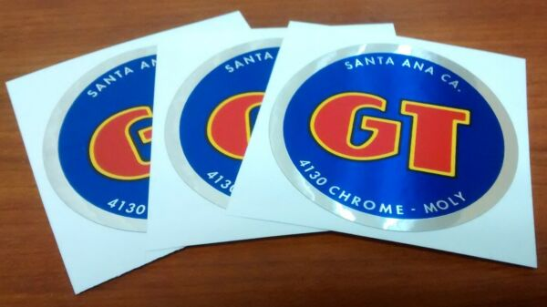 Old School BMX 3 for the price of 2 84 85 Blue Coin Decals 2 1 4quot; x 2 1 4quot; $9.99
