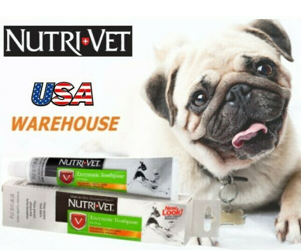Enzymatic Toothpaste For Dog Bad Breath Non Foaming Remove Tartar Chicke Flavour $4.55