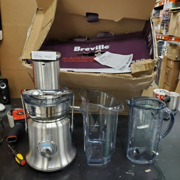 Breville BJE830BSS Juice Founatin Cold XL Centrifugal READ
