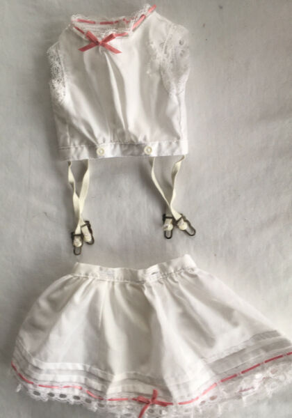American Girl Pleasant Co Samantha Lacy Whites Underwear Garters Top As Is