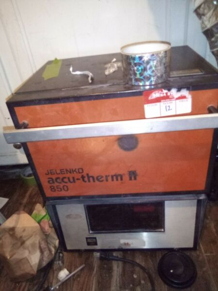 Jelenko Accu therm II xl m burn out furnace and 2 spare heat plates OBO $675.00