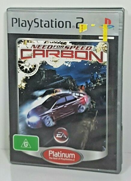 Need for Speed Carbon Game Sony PlayStation 2 PAL Complete with manual PS2 VGC AU $11.99